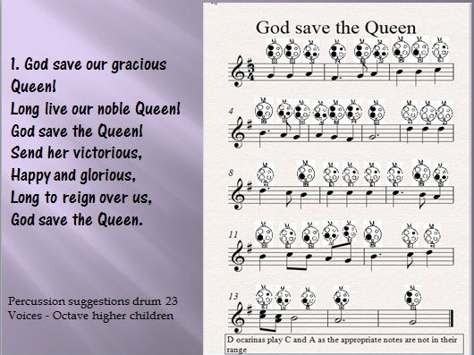 The National Anthem.  God Save the Queen.