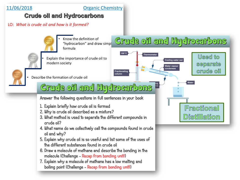 Crude oil and hydrocarbons