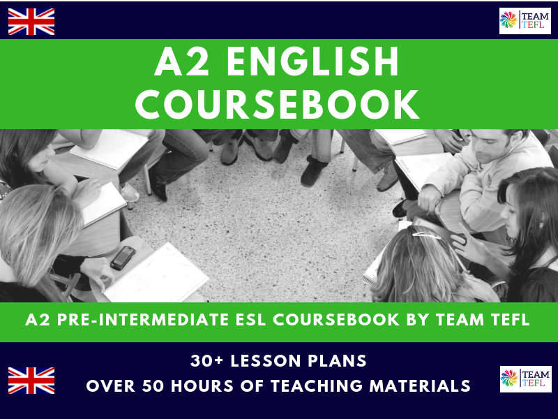 A2 Pre-Intermediate English Complete Coursebook For ESL