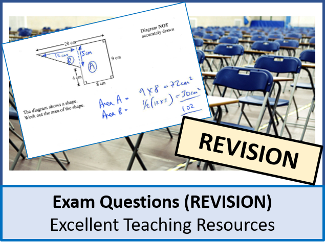 Geometry: Plans and Elevations Exam Questions (with Answers)