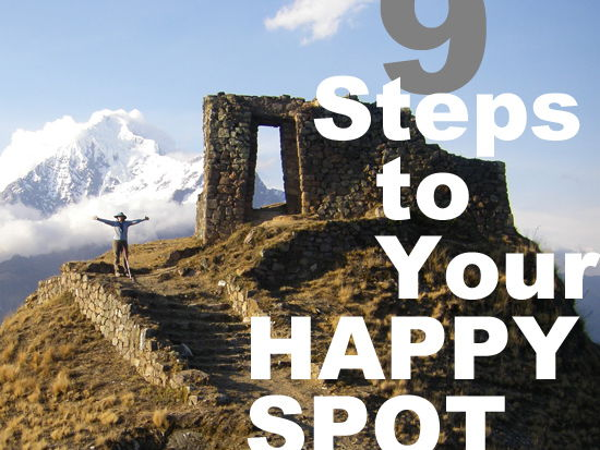 Mental Health > 9 Steps to Your HAPPY SPOT > Nonfiction Self Improvement Guide