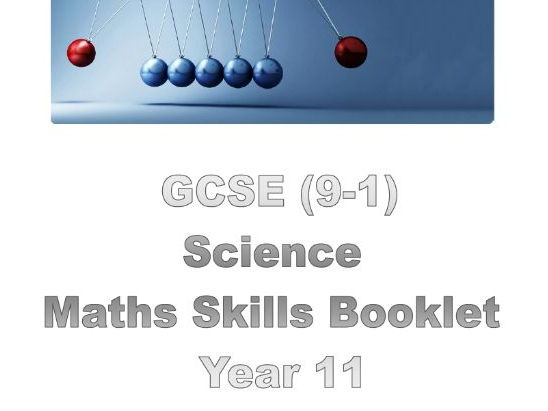 Edexcel 9-1 Science maths skills booklet by jlfairhurst1 - Teaching ...