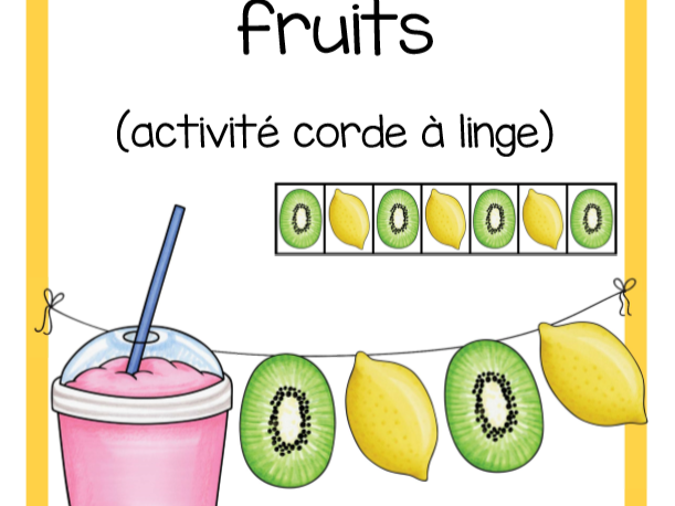 Suites fruits (Fruit Patterns)