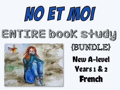 No et moi - BOOK STUDY - Etude des chapitres 1 à 55 - The ENTIRE book study!! Worth more than £70!! *More than £22 of OFFERED resources*