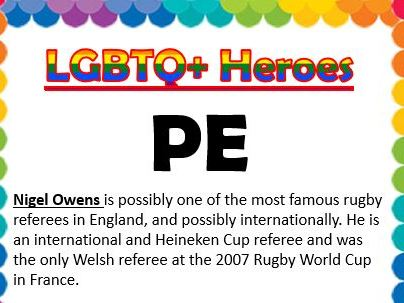 LGBTQ Heroes Collections- PE