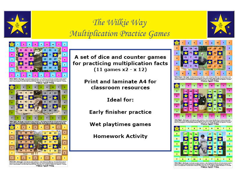 Multiplication Practice Games