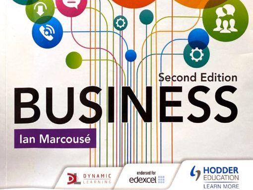 GCSE (Edexcel) Topic 1.5 Business  Broadsheets