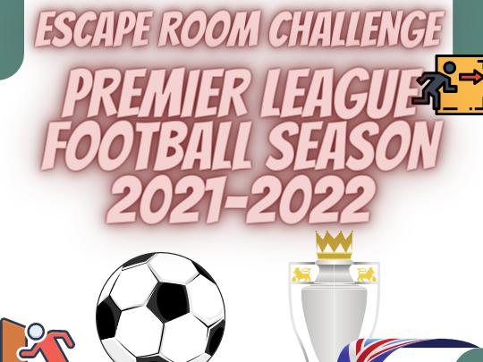 Premier League Football Escape Room