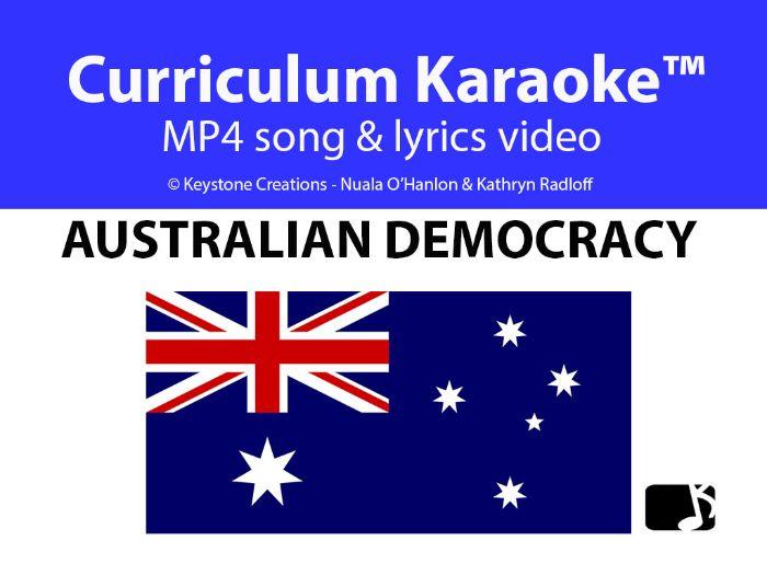 'AUSTRALIAN DEMOCRACY' (Grades 3-7) ~ Curriculum Song &