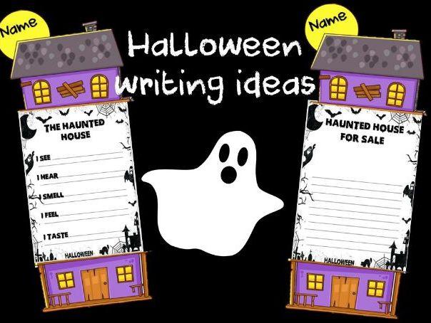 Halloween Descriptive Writing Activity