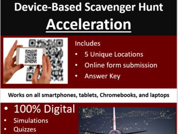 Acceleration – A Digital Scavenger Hunt Activity