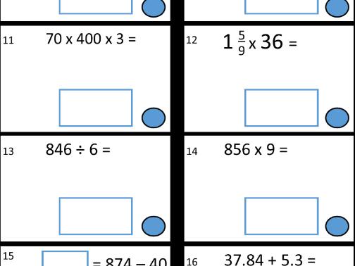 Ten KS2 Arithmetic SATs Tests eBook1