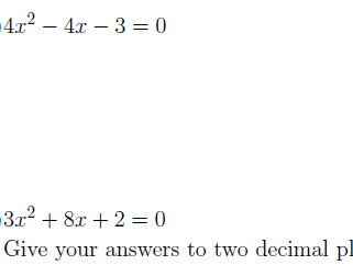 Solving quadratic equations using factorisation and the formula worksheets (with solutions)