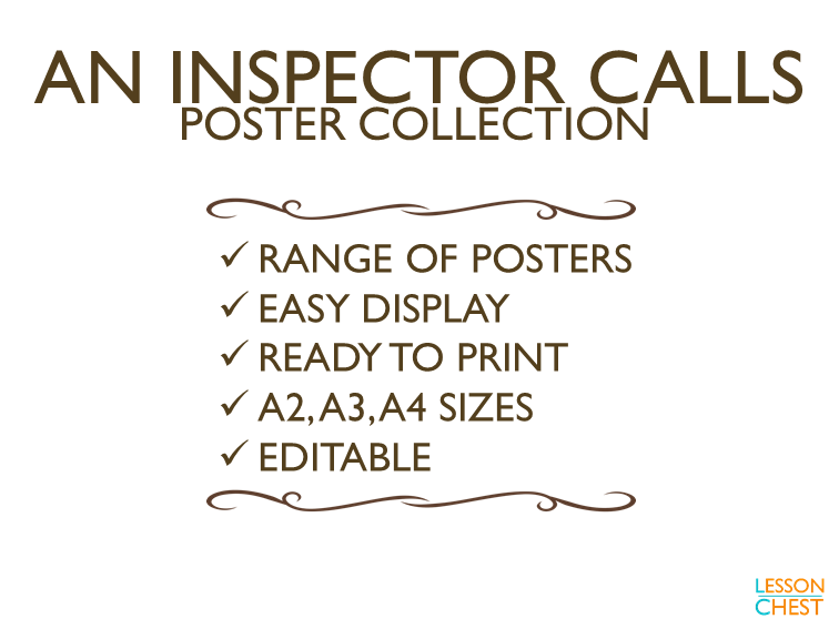 An Inspector Calls Posters
