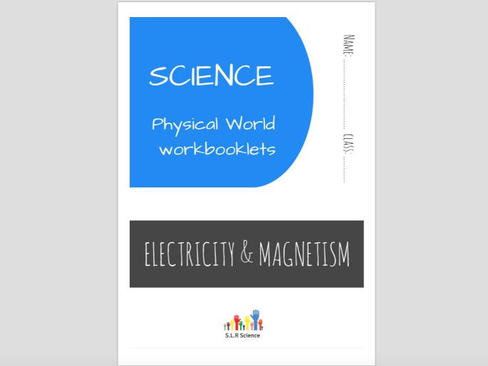SPECIAL EDUCATION (SCIENCE) - ELECTRICITY, CIRCUITS, CONDUCTORS, MAGNETS science workbooklet