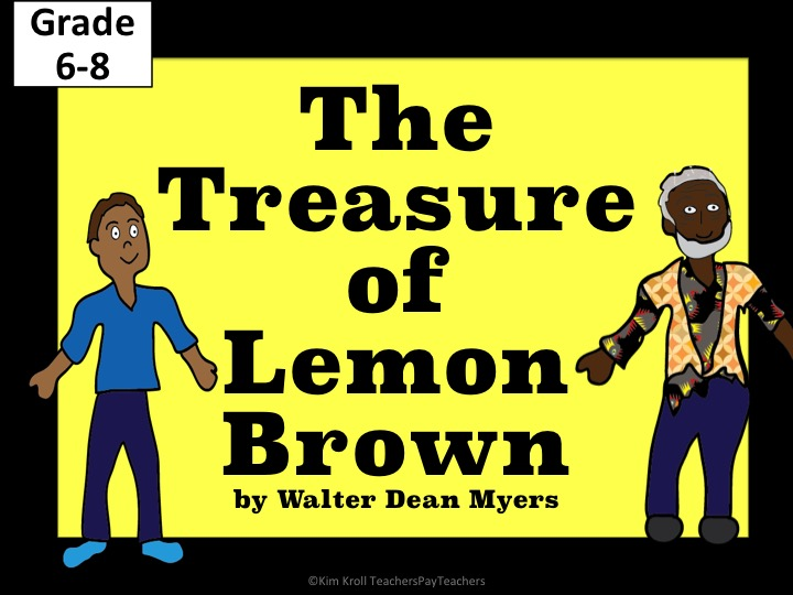 """The Treasure of Lemon Brown""   NO PREP!"
