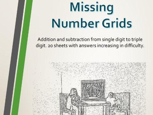 Missing Number Grids