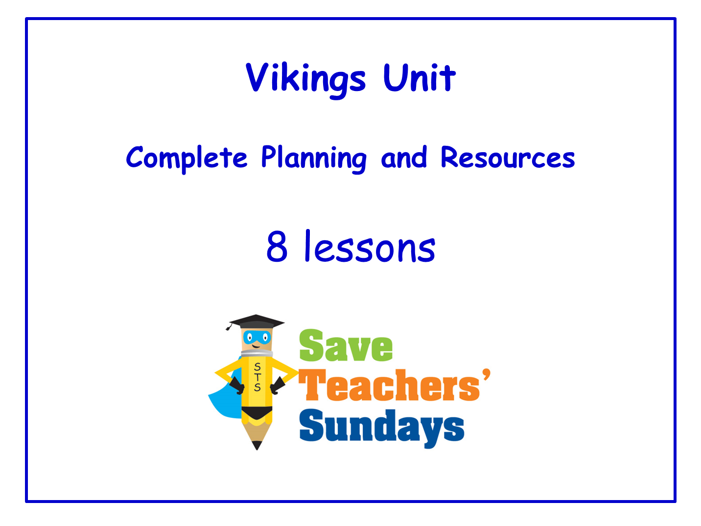 KS2 Vikings Lesson Plans and Resources