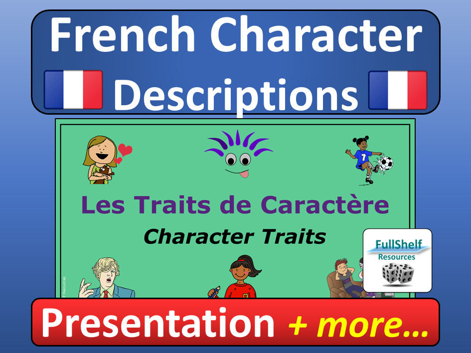 French Character Descriptions