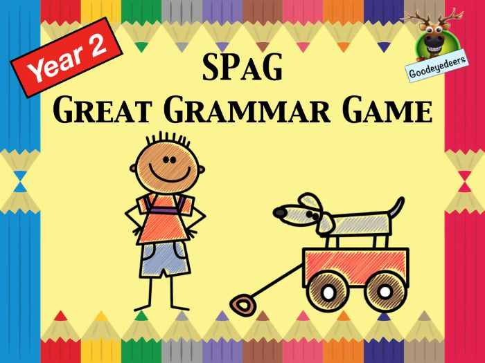 SPaG - A Great Grammar Game for Year 2