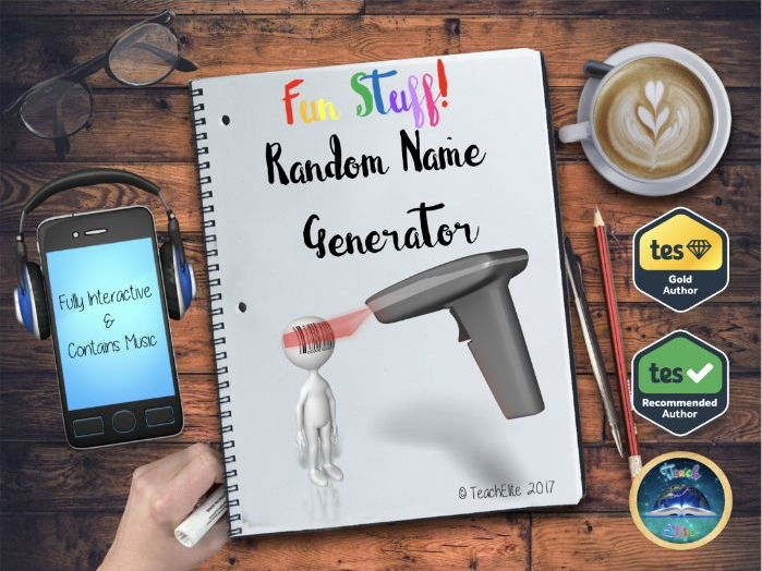 Transition :  Random Name Generator.