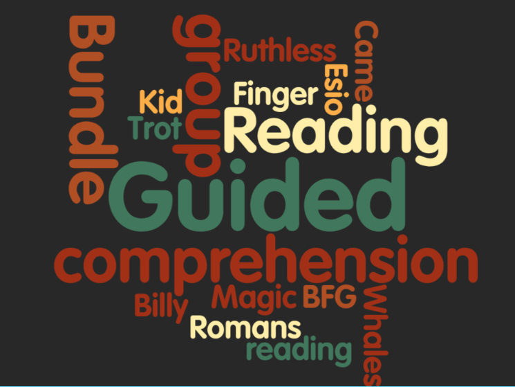 A complete half term's  guided reading bundle for Y3 or Y4 - set 4