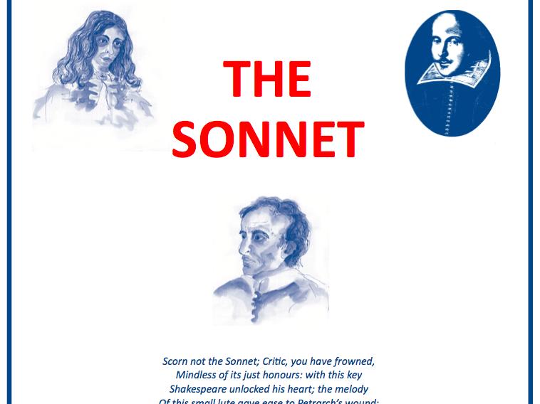 The Sonnet Scheme of Work