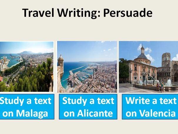 Travel Writing: Persuade