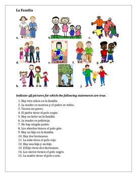 Spanish Worksheets: Elementary Language Teaching Resources ǀ Tes