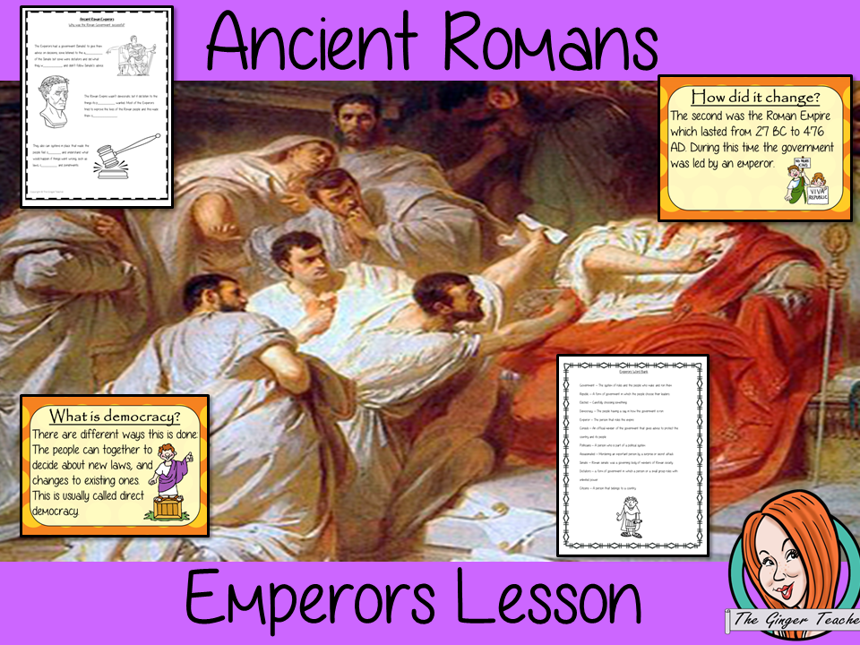 Ancient Romans Emperors and Government Complete History Lesson