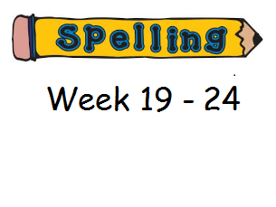Year 3 Spelling Planning and Homework Resources - Weeks 19-23