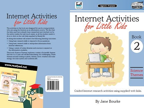 Internet Activities for Little Kids: Book 2 - Science Themes