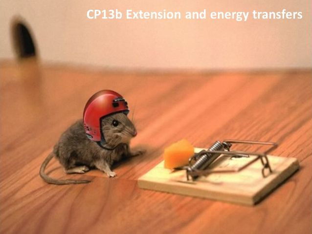 CP13b Extension and energy transfers