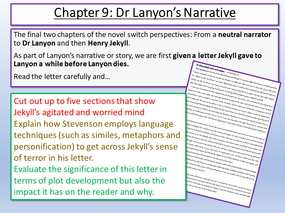Dr Jekyll and Mr Hyde - Lanyon's Narrative