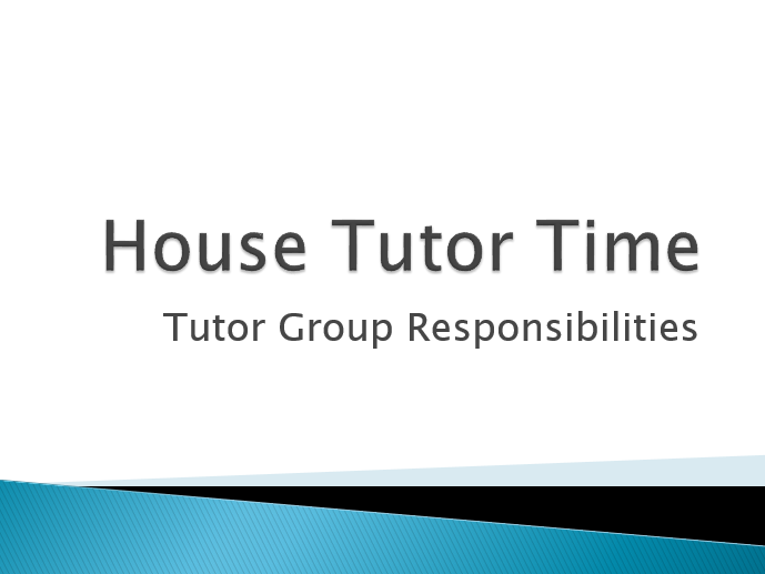 Tutor Time Student Responsibility Initiative by sullfish - Teaching ...