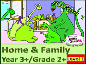 PRIMARY SPANISH UNIT YEAR 3+/GRADE 2+: HOME & FAMILY