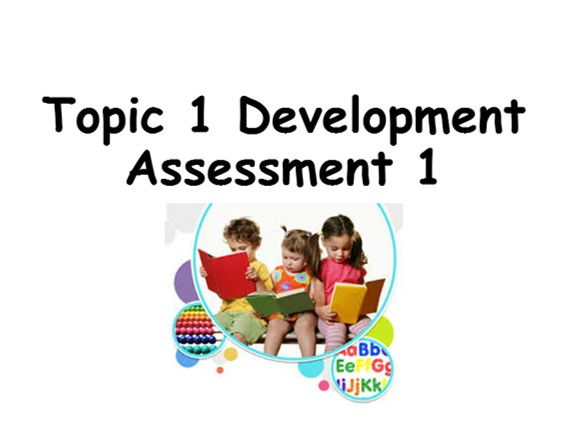 GCSE Psychology - Topic 1 Development (Assessment lesson)
