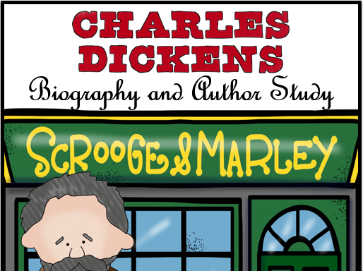 Charles Dickens Biography & Bonus Activities for A Christmas Carol