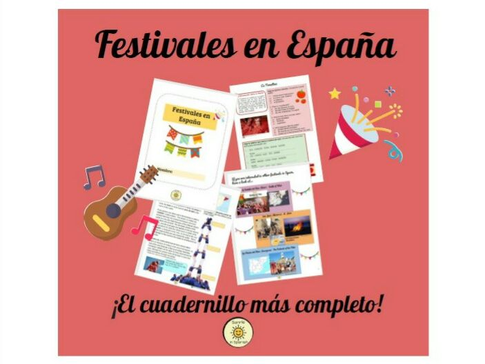 Festivals in Spain, the booklet with answers! Los festivales en España, ¡cuadernillo con soluciones!