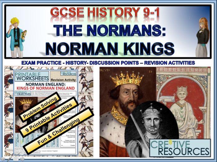 Norman England: Kings of Norman England