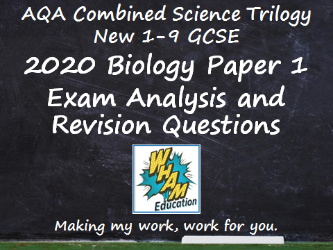 AQA Combined Science Trilogy Biology Paper 1 Revision and 2020 Exam Support