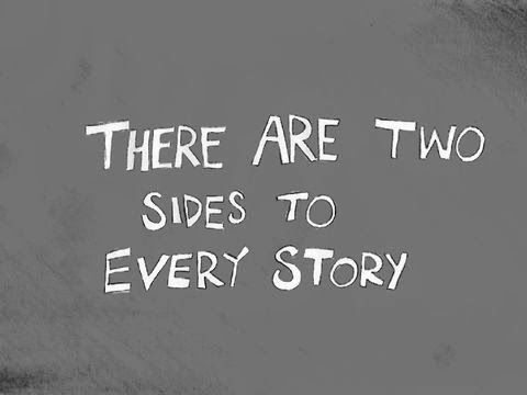 Two Sides To Every Story - class assembly playscript - traditional tales