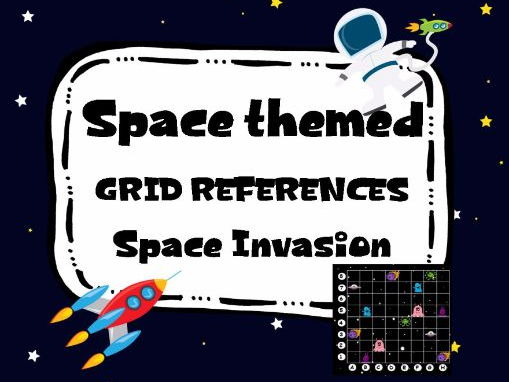 Space Invasion Game. Grid References