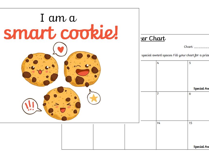 Positive Affirmation Sticker Charts