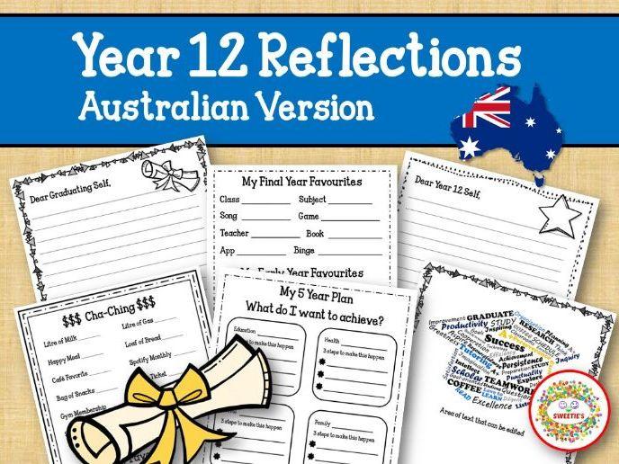 Year 12 Reflections  Writing Project - Australian Version
