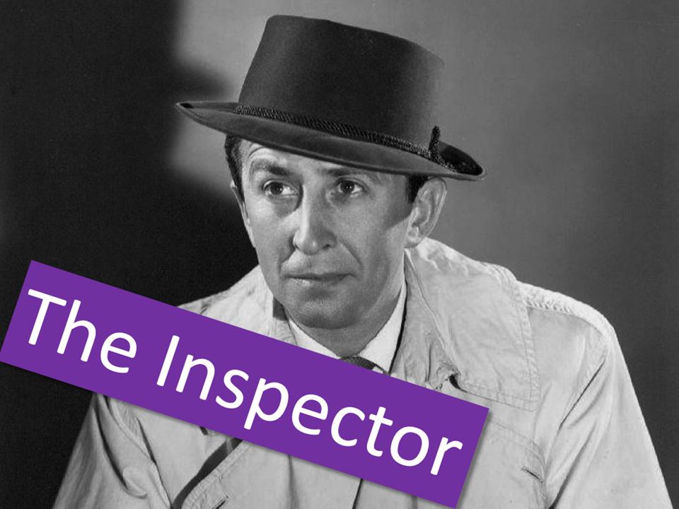 An Inspector Calls - The Inspector