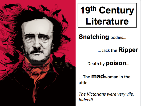 GCSE 19th Century Literature Year 9