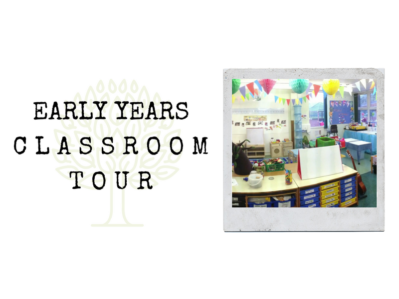 Video tour, changes to my EYFS classroom, new tables, layout, flooring, displays.