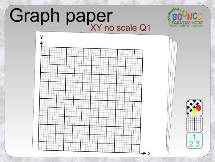 Graph paper - XY - no scale - Q1