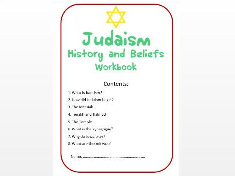 Judaism: History and Beliefs Workbook: High Ability